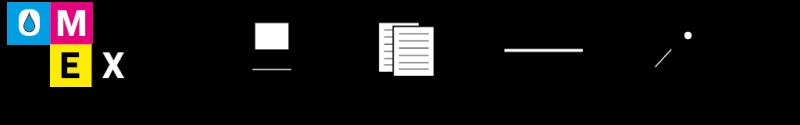 Omex - usluge printanja i  fotokopirnica Logo